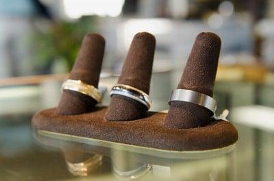 Men's rings at King Jewelers