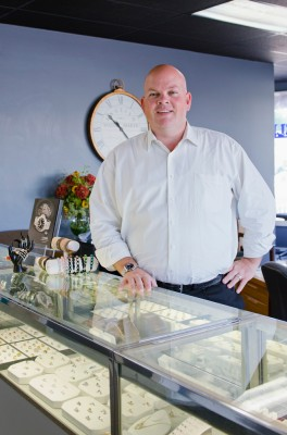 Derek King, owner of King Jewelers